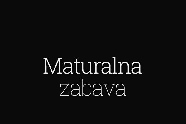 maturalna